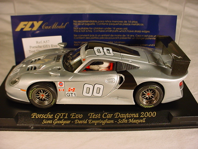 fly porsche 911 gt1 evo 00 daytona test car a57 mb gt car 1 32 slot car ebay. Black Bedroom Furniture Sets. Home Design Ideas
