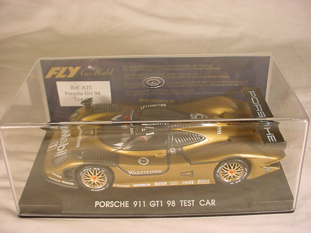 fly porsche 911 gt1 98 a73 le mans test car mb gt car 1 32 slot car ebay. Black Bedroom Furniture Sets. Home Design Ideas